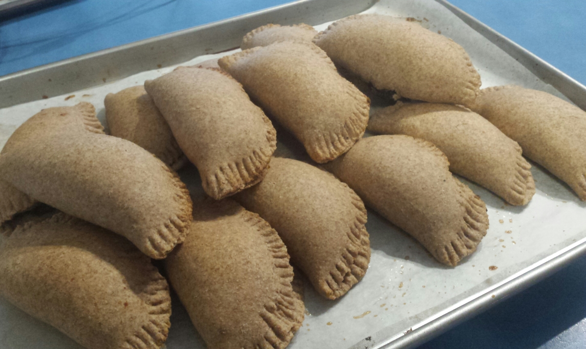 Empanadas (with vegan option)