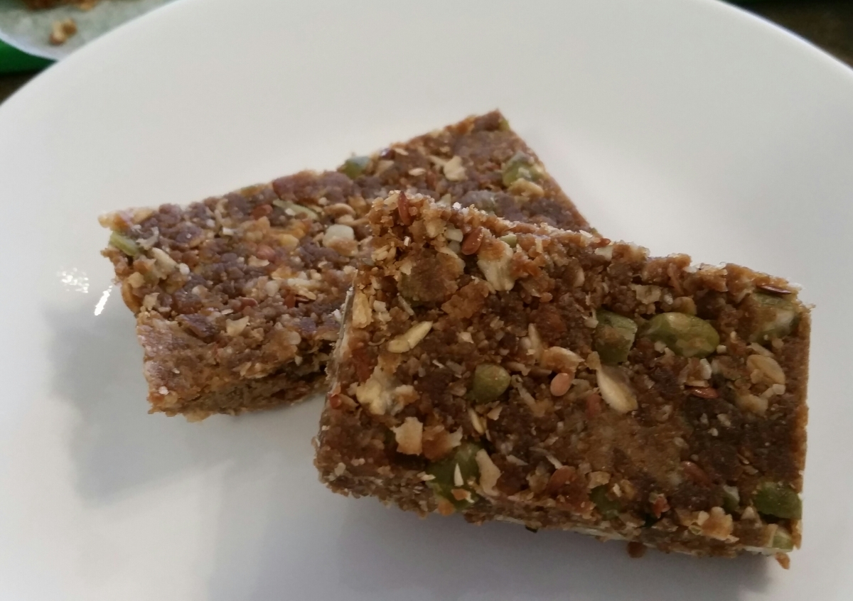 Seed butter bars
